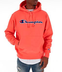 Men's Champion Reverse Weave Chenille Logo Hoodie
