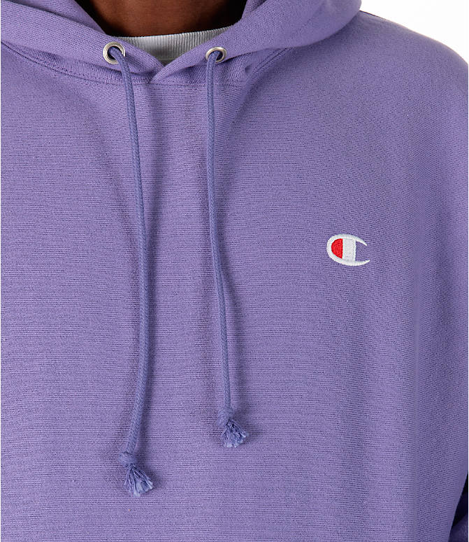 Detail 1 view of Men's Champion Reverse Weave Pullover Hoodie