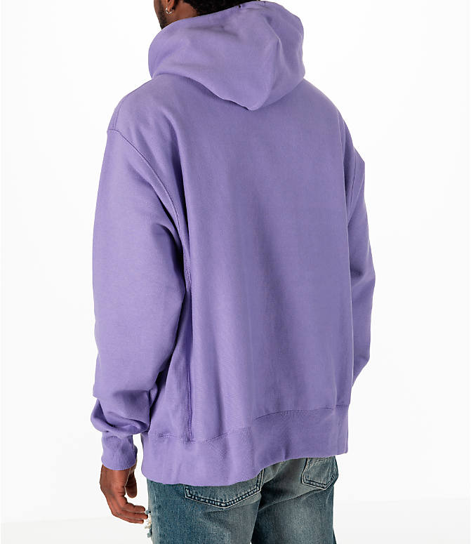 Back Left view of Men's Champion Reverse Weave Pullover Hoodie