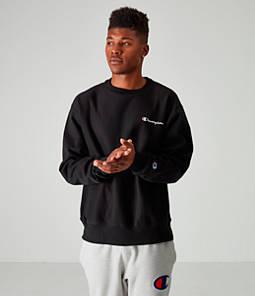 Men's Champion Reverse Weave Small Script Crewneck Sweatshirt