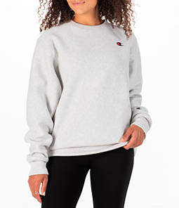 Women's Champion Signature Small Logo Crew Sweatshirt