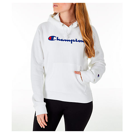 Champion Women S Reverse Weave Chenille Hoodie 0183853dfc