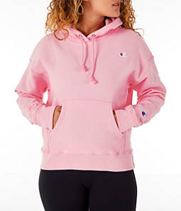 Women's Champion Reverse Weave Chenille Small Logo Hoodie