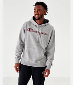 Men's Champion PowerBlend Script Logo Hoodie