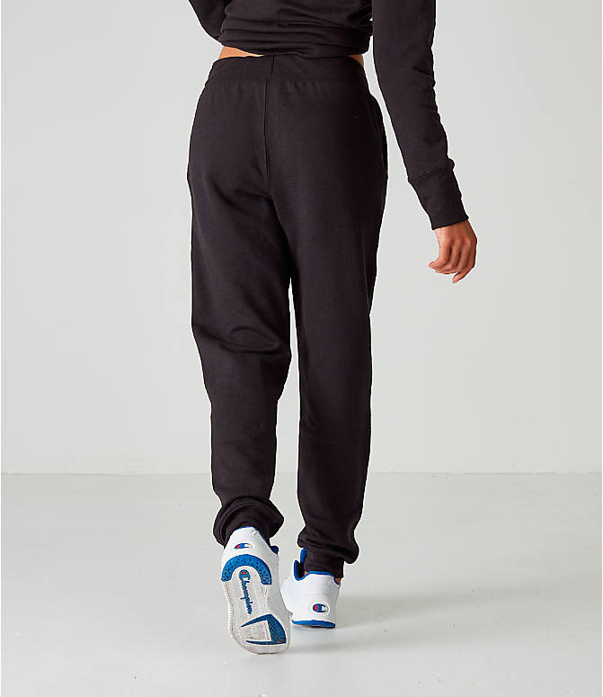 separation shoes a0000 29ae7 Back Right view of Women s Champion PowerBlend Jogger Pants in Black
