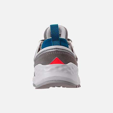 Back view of Boys' Big Kids' New Balance 574 Sport V2 Casual Shoes in Marblehead/Deep Ozone Blue