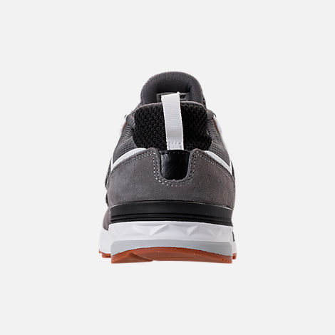 Back view of Boys' Big Kids' New Balance 574 Sport Casual Shoes in Castlerock/Black