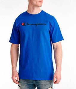 Men's Champion C-Life Script Logo T-Shirt