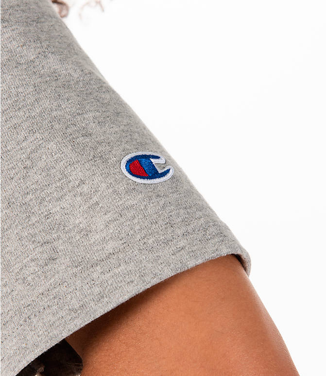 Detail 2 view of Women's Champion Heritage HBR T-Shirt in Oxford Grey