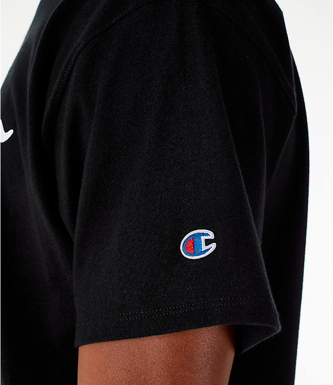 Detail 2 view of Men's Champion Graphic Jersey T-Shirt in Black