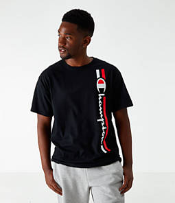 Men's Champion Vertical Script T-Shirt