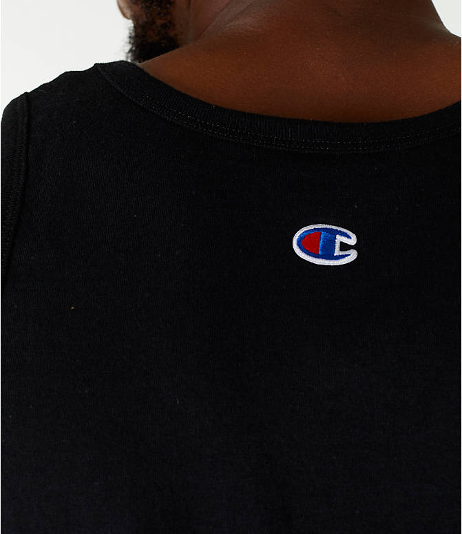 Detail 2 view of Men's Champion Script Tank in Black