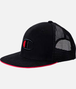 Champion Big C Logo Snapback Hat