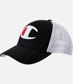 Champion Twill Mesh Strapback Dad Hat