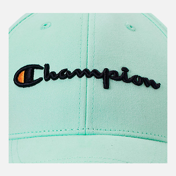 Alternate view of Champion Classic Twill Hat in Waterfall Green