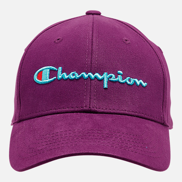 Back view of Champion Classic Twill Hat