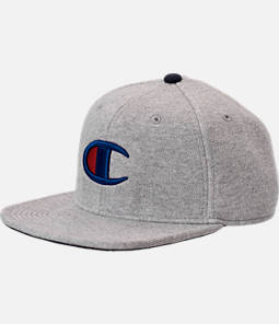 Champion Big C Logo Reverse Weave Adjustable Back Baseball Hat