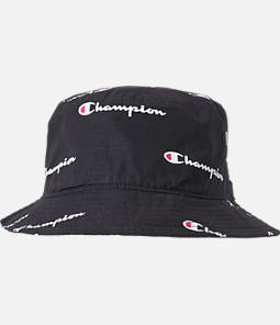 Champion All Over Script Reverse Weave Bucket Hat