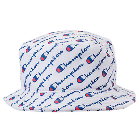 Champion Reverse Weave Allover Print Bucket Hat 796384b59a6