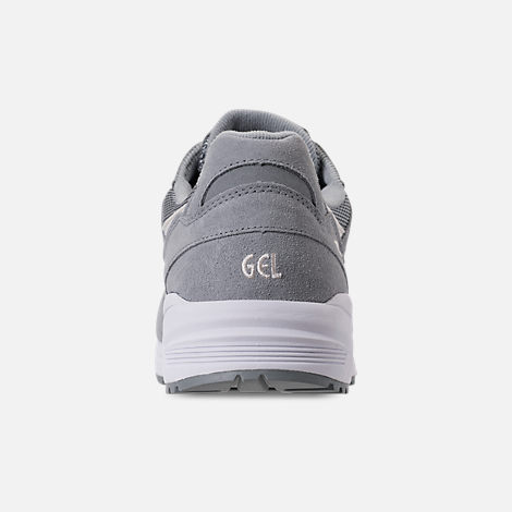Back view of Men's Asics Tiger GEL-Lique Casual Shoes in Stone Grey/Birch