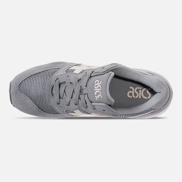 Top view of Men's Asics Tiger GEL-Lique Casual Shoes in Stone Grey/Birch