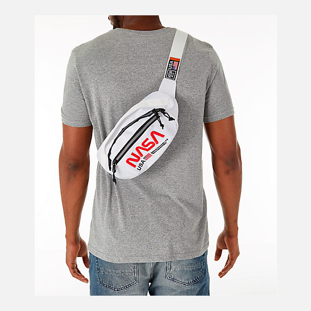 Alternate view of Hudson NASA Worm Adjustable Waist Pack in White