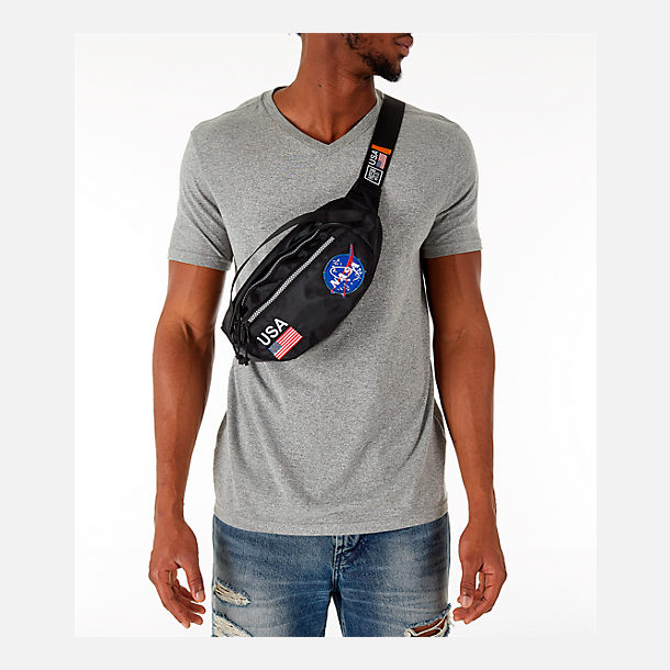 Alternate view of Hudson NASA Meatball Fanny Pack in Black