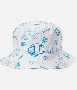 Champion Scribble Print Twill Bucket Hat