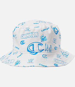 Champion Scribble Print Twill Bucket Hat