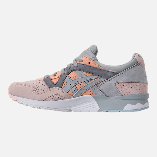 Left view of Men's Asics Gel-Lyte V Casual Shoes in Apricot Nectar