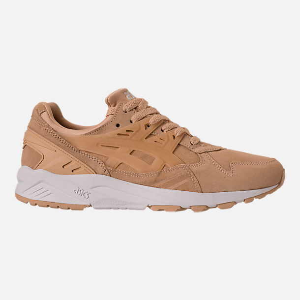 Right view of Men's Asics Tiger GEL-Kayano Trainer Casual Shoes in Marzipan