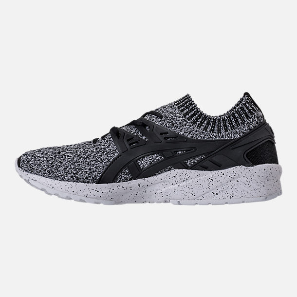 Left view of Men's Asics GEL-Kayano Trainer Knit Mid Casual Shoes