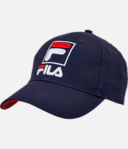 Fila Structured Cotton Twill Snapback Hat