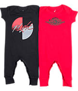 Infant Jordan Coverall Flight Logo 2-Piece Set