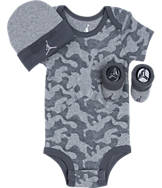 Infant Jordan AJ Camo 3-Piece Set