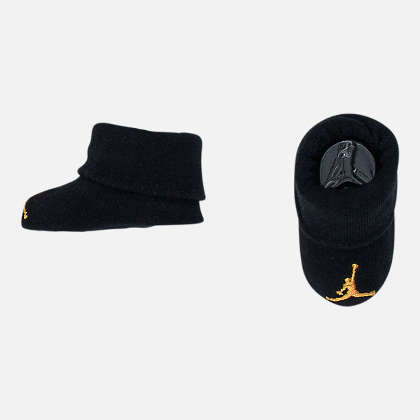 Alternate view of Boys' Infant Air Jordan Do You Know 3-Piece Set in Black/Metallic Gold