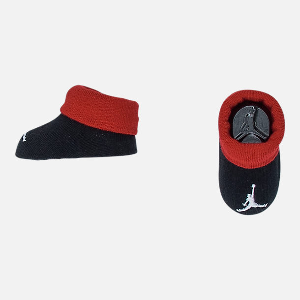 Alternate view of Boys' Infant Air Jordan Game Changer 3-Piece Set in Black/Red