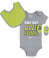 Infant Nike Tiny But Awesome 3-Piece Set