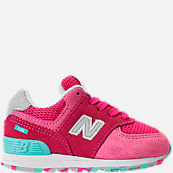 Girls' Toddler New Balance 574 Core Casual Shoes