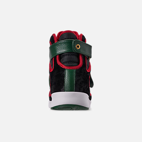 Back view of Men's Vlado Atlas 3 Casual Shoes in Black/Green/Red