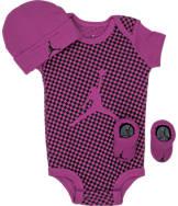 Girls' Infant Air Jordan Checkered 3-Piece Set