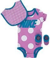 Girls' Infant Nike Dots 3-Piece Set