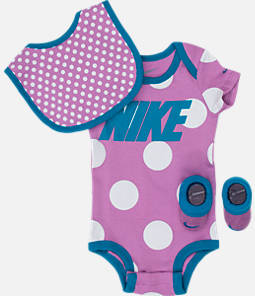 Girls' Infant Nike Dots 3-Piece Set Product Image