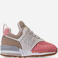 Girls' Toddler New Balance 574 Sport Casual Shoes