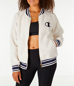 Women's Champion Sherpa Full-Zip Bomber Jacket