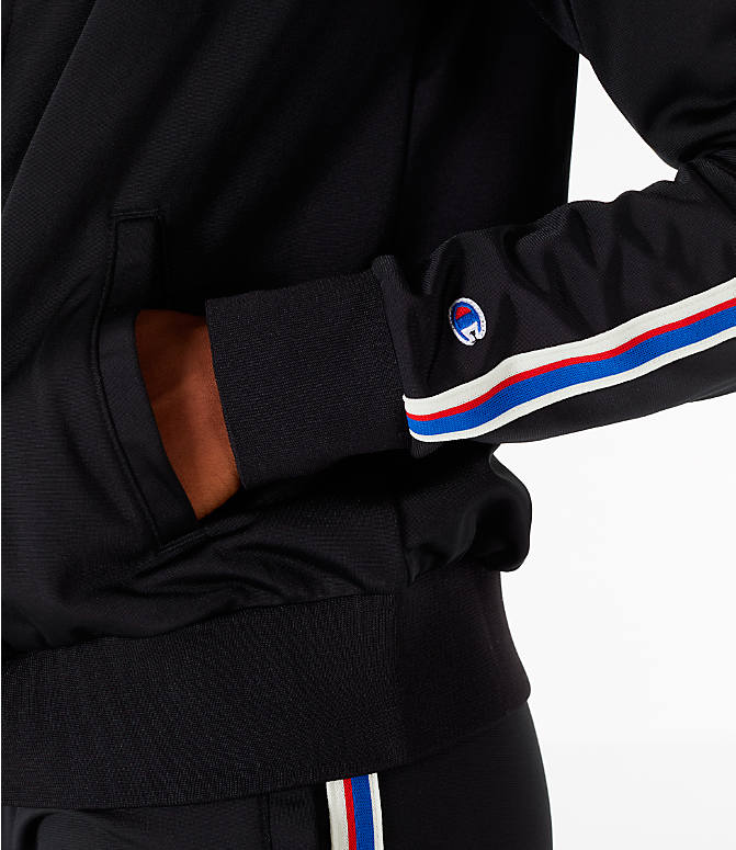 Detail 1 view of Women's Champion Track Jacket in Black