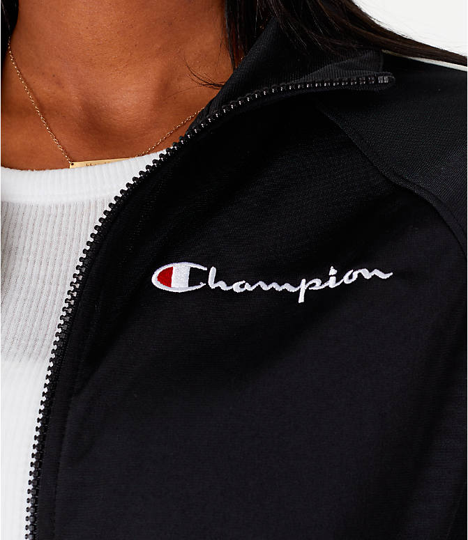 Detail 2 view of Women's Champion Track Jacket in Black
