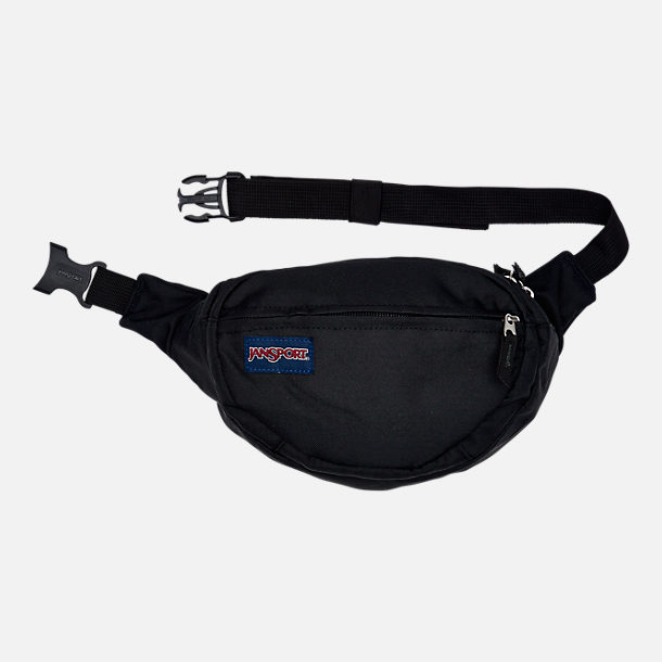 Front view of JanSport Fifth Avenue Waist Pack in Black