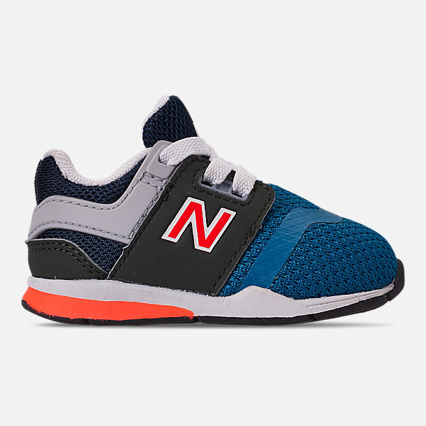 Right view of Boys  Toddler New Balance 247 Casual Shoes in Light Blue Flame a23521f67