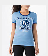 Women's New Era Kansas City Royals MLB Vintage Ringer T-Shirt
